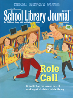 Cover SLJ1207 TOC School Library Journal, July 2012 Issue: Table of Contents