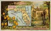 Florida map from the NYPL