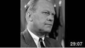 Gerald Ford speaks at UCLA