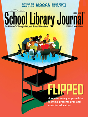 SLJ CV APR2013 Homepage School Library Journal, April 2013 Issue: Table of Contents