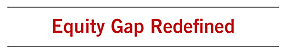 Equity Gap Redefined